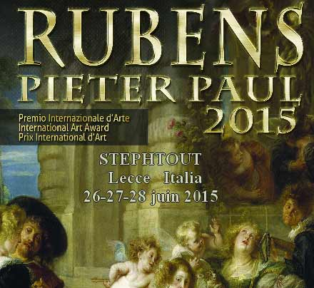Prix International Art RUBENS Italie 2015